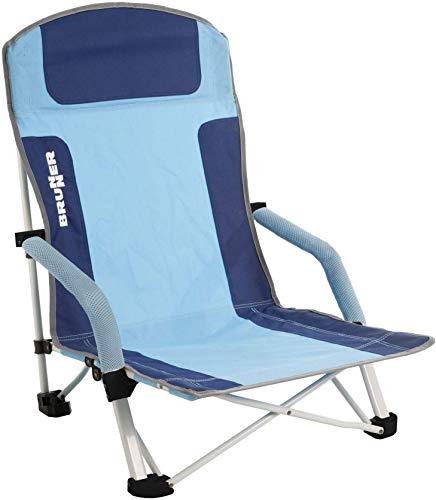 BRUNNER Strandstoel Bula blauw/lichtblauw