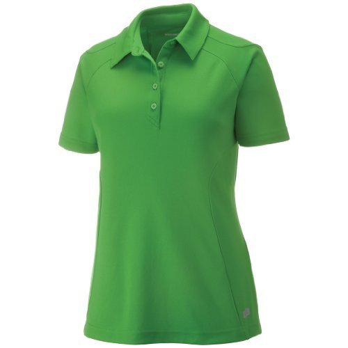Ash City Womens Dolomite Performance Polo (Medium, Valley Green) by Ash City Apparel