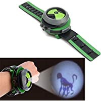 Ben 10 Alien Force Omnitrix Illumintator Projector Watch Toy Gift