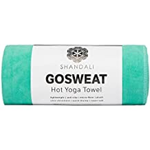 #1 Rated Hot Yoga Towel - Mat-Sized, Microfiber, Super Absorbent, Anti-slip, Injury Free, 26.5