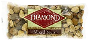 Diamond Mixed Nuts, Inshell, 32-Ounce Bags (Pack of 3)