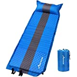 Best Camping Sleeping Pads - MOVTOTOP Camping Sleeping Pad Self Inflating with Attached Review
