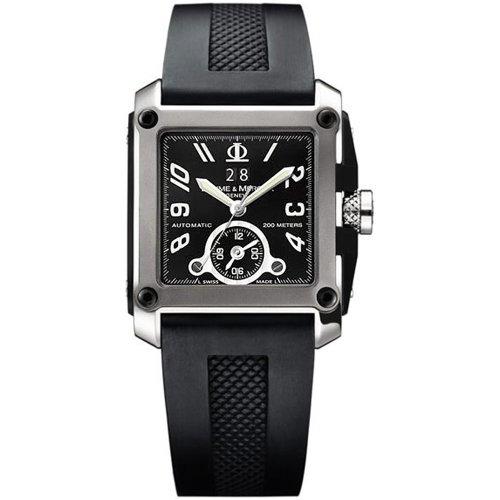 baume mercier men s 8749 hampton square titanium watch amazon baume mercier men s 8749 hampton square titanium watch amazon co uk watches