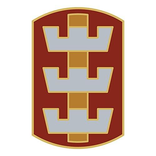 Army 130th Engineer Brigade Veteran Unit Sticker (Us Army Engineer Units)