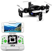 Mini Foldable Pocket RC Drone, FPV 6-Axis Gyro Altitude Hold RC Quadcopter with HD WiFi Real-time Transmission Camera