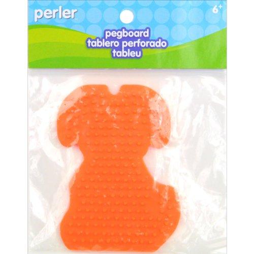 Perler Beads Puppy Pegboard (Perler Bead Dog)