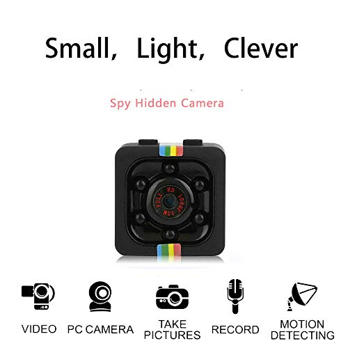 Mini Spy Camera 1080P Wireless Hidden DV Camcorder Upgraded Night Vision/Motion Activated Spy Cam Nanny Cam, Security Camera for Home and Outdoor
