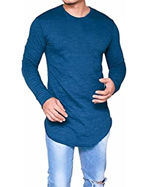 Mens Shirt, 2018 Clearance Spring Winter Men O Neck Long Sleeve Slim Fit Tee T-Shirt Casual Tops