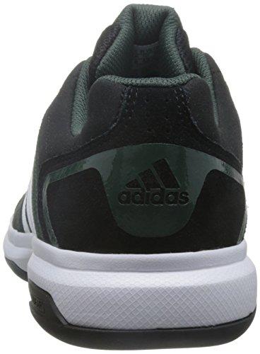adidas Barricade Approach S, Zapatillas de Tenis Unisex Adulto Negro (Negbas / Ftwbla / Hieuti)