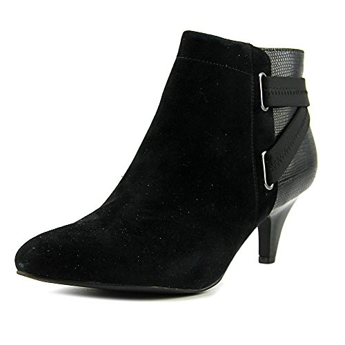 Alfani Womens Vandela2 Leather Closed Toe Ankle Fashion Boots, Black, Size 11.0 from Alfani