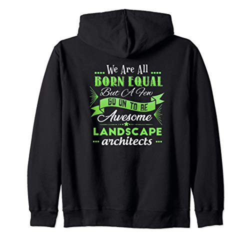 Funny Landscaper Gifts Sarcasm Quote Landscape Architect Zip Hoodie (Landscaping Hoodie)