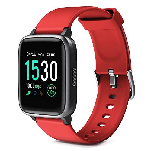 Glymnis Reloj Inteligente Smartwatch Impermeable IP68 Pulsera Actividad con Pulsómetro Monitor de Sueño Pantalla Táctil Completa Reloj Deportivo a buen precio