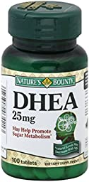 Nature\'s Bounty DHEA 25 mg Tablets 100 ea (Pack of 6)
