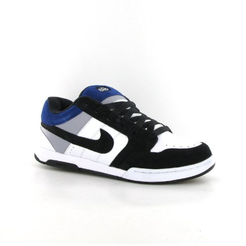 33982d1680155 NIKE Air Mogan White Black Suede Mens Trainers Size 7 UK  Amazon.co.uk   Shoes   Bags