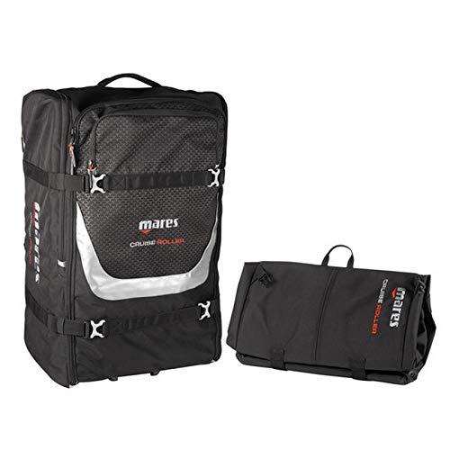 Mares Cruise Backpack Roller Bag Unisex - Adult, Black One Size