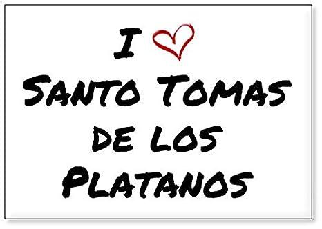 Mundus Souvenirs - Amo Santo Tomas de los Platanos, Imán para ...