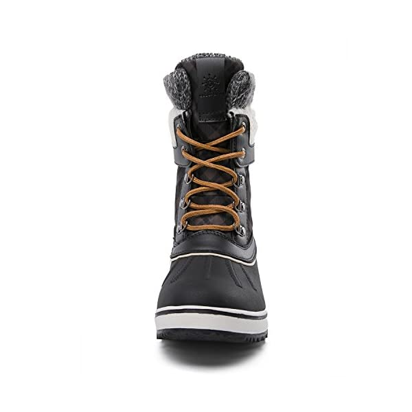 Global Win GLOBALWIN Women's Waterproof Winter Snow Boots