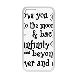 RMGT I Love You To The Moon And Back Cell Phone Case for Iphone 6 (4.5)