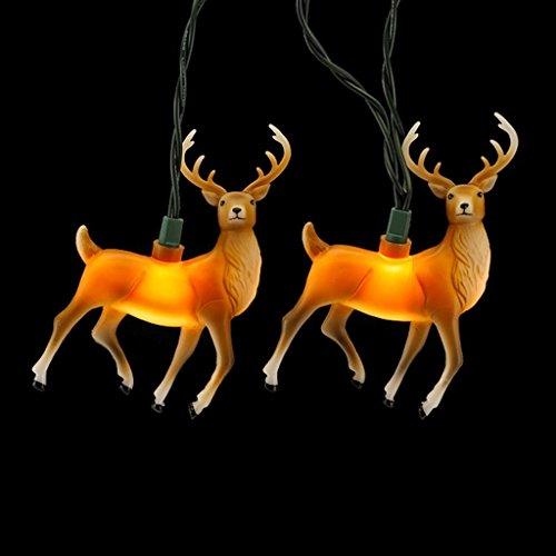 Kurt Adler 10 Light Reindeer 4 5 Inch product image