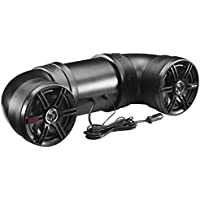 Boss Audio Systems ATV6B Amplified Sound System, Weatherproof Speaker & Tweeter, Built-in Bluetooth, Ideal For ATV/UTV