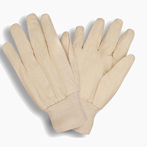 2000V Cotton Canvas Glove - Large - Standard cotton canvas 8 oz fabric clute pattern knit wrist | 12 - Ounce Glove Canvas 8