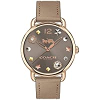 Relógio Coach Feminino Couro Marrom - 14502797