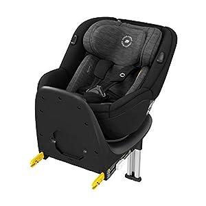 Bébé Confort Mica, siège auto Pivotant, ISOFIX, de la naissance à 4 ans, dos route I-size, Authentic Black