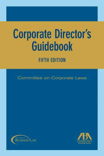 Corporate Director's Guidebook