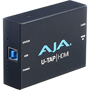 Image of AJA U-TAP HDMI Simple USB 3.0 Powered HDMI Capture Video Converters