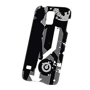 Case Fun Samsung Galaxy S5 (i9600) Case - Ultra Slim Version - Full Wrap Edge to Edge Print - Black and White Silhouette