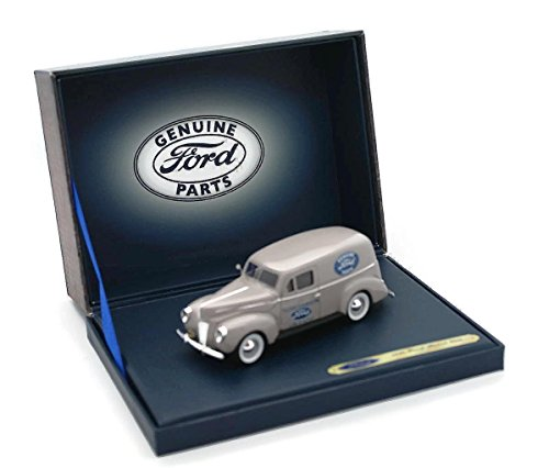 1940 Ford Panel (Ford Panel Van, light grey, Ford Genuine Parts, 1940, Model Car, Ready-made, Motorhead 1:43)
