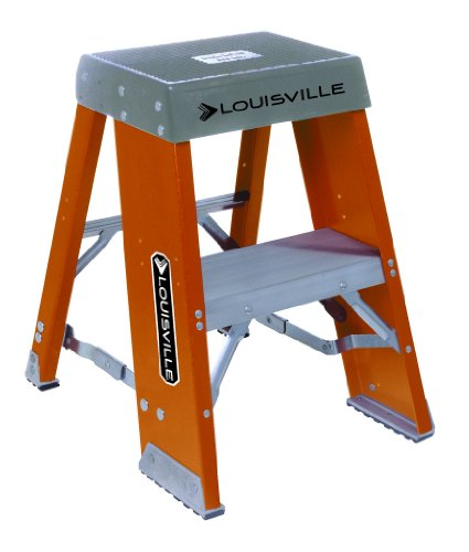 Louisville FY8002 300-Pound Duty Rating Fiberglass Step S...