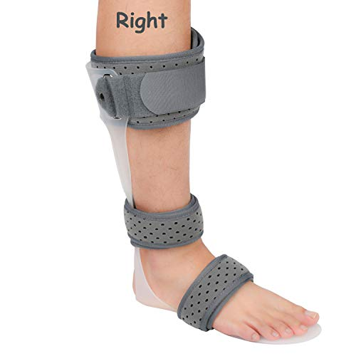 AFO Brace Medical Ankle Foot Orthosis Support Drop Foot Postural Correction Brace (Right/S)