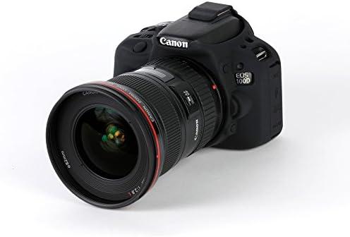 Bilora ECC100DR easyCover - Carcasa para Canon 100D, Color Rojo ...