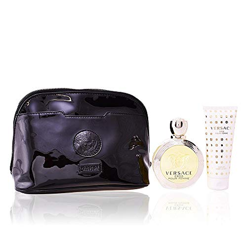 Versace Eros Pour Femme 3 Piece Gift Set for Women ()