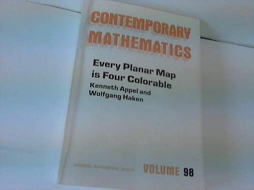 Every Planar Map Is Four Colorable Contemporary Mathematics