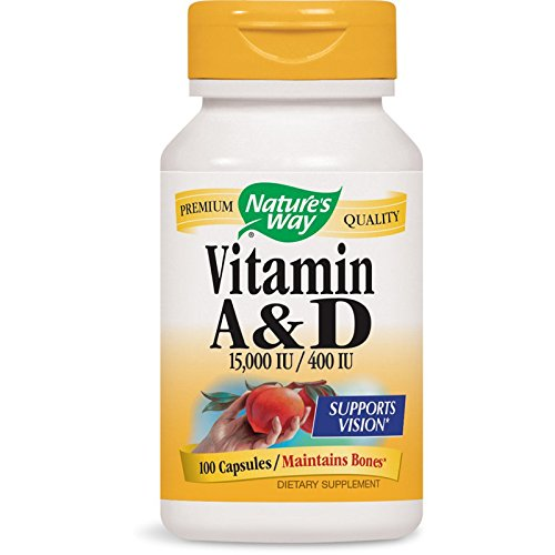 Nature's Way Vitamin A and D -- 100 Capsules ()