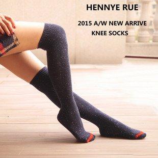 JET-BOND-FS05-Cotton-Knee-High-Stocking-Color-Dots-Thick-Socks
