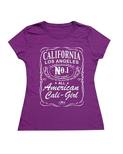 P&B Women's T-shirt California American Cali Girl