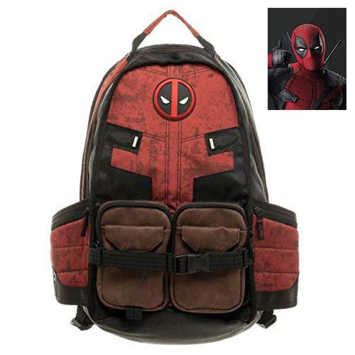 Laptop Backpack Purse | High School Backpack for Men Women | Deadpool Travel Backpack | Deadpool Laptop Backpack by JPTACTICAL
