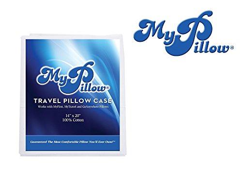 My Pillow Pillowcase (MyFirst GoAnywhere Travel Pillow Case) 100% Egyptian Giza ()