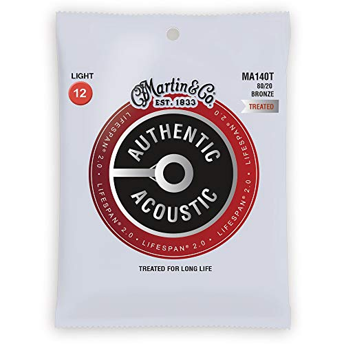 Martin Co Acoustic Guitars - Martin Strings Acoustic Guitar Strings (41Y18MA140T)