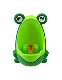 Eamall Lovely Frog Baby Toilet Training Children Potty Urinal Pee Trainer Urine For Boys with Funny Aiming Target (Green) BOBEBE Online Baby Store From New York to Miami and Los Angeles