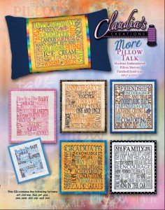 Claudia's Creations PT60987 Pillow Talk -