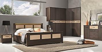 Design Luxus Schlafzimmer Set Stilmobel Edelholz Komplett
