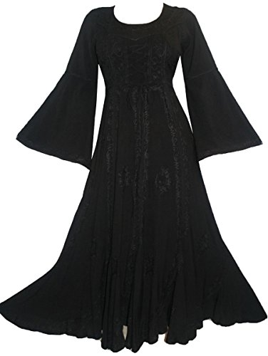 long black fairy dress - 9