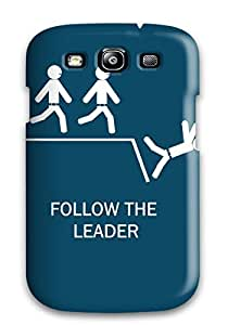New Style S3 Protective Case Cover/ Galaxy Case - Funny Follow The Leader