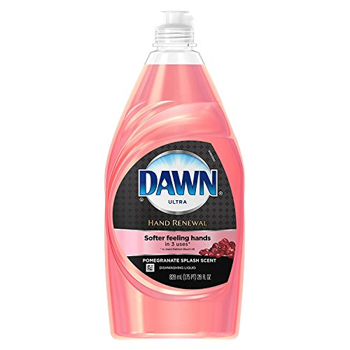 2 Pk. Dawn Hand Renewal Dishwashing Liquid Dish Soap, with Pomegranate Splash, 28 Fl. Oz (56 Fl. Oz Total)
