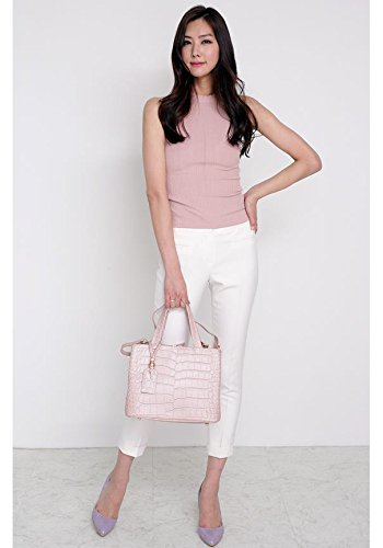 Bellina Wani Tote Shoulder Bag BB1218 (Pink) by Pristine&BB (Image #3)
