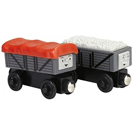 Amazoncom Thomas And Friends Wooden Railway Giggling Troublesome